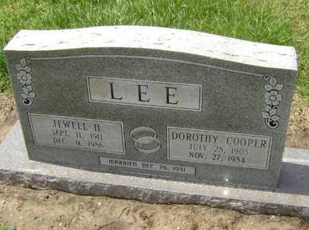COOPER LEE, DOROTHY JEAN - Lawrence County, Arkansas | DOROTHY JEAN COOPER LEE - Arkansas Gravestone Photos