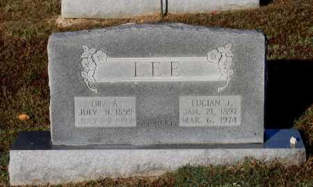 LEE, LUCIAN JESSE - Lawrence County, Arkansas | LUCIAN JESSE LEE - Arkansas Gravestone Photos