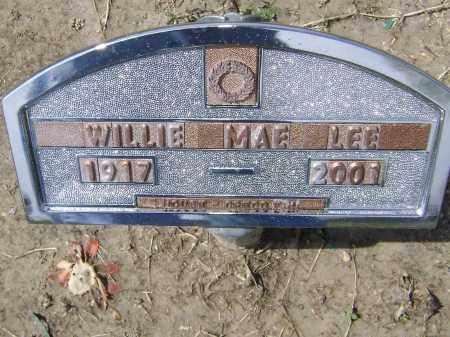 LEE, WILLIE MAE - Lawrence County, Arkansas | WILLIE MAE LEE - Arkansas Gravestone Photos