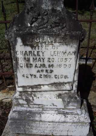 LEHMAN, ROSEANNE DOLLIE - Lawrence County, Arkansas | ROSEANNE DOLLIE LEHMAN - Arkansas Gravestone Photos