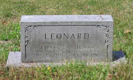 LEONARD, LEATHA ELLEN - Lawrence County, Arkansas | LEATHA ELLEN LEONARD - Arkansas Gravestone Photos