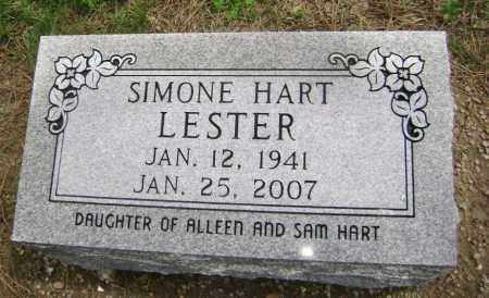 HART LESTER, SIMONE - Lawrence County, Arkansas | SIMONE HART LESTER - Arkansas Gravestone Photos