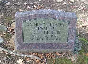HUSKEY LEWALLEN, KATHLEEN - Lawrence County, Arkansas | KATHLEEN HUSKEY LEWALLEN - Arkansas Gravestone Photos
