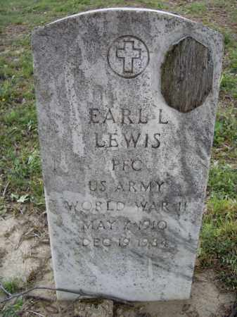 LEWIS (VETERAN WWII), EARL L. - Lawrence County, Arkansas | EARL L. LEWIS (VETERAN WWII) - Arkansas Gravestone Photos