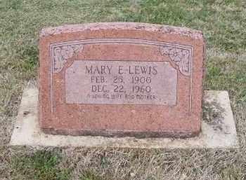 LEWIS, MARY E. - Lawrence County, Arkansas   MARY E. LEWIS - Arkansas Gravestone Photos