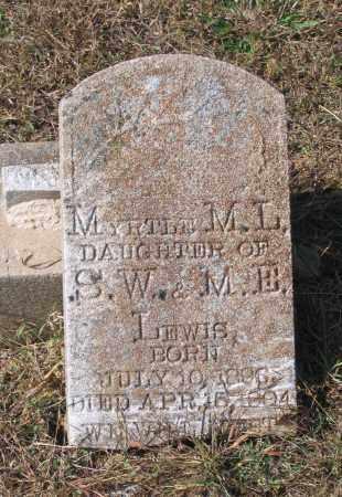LEWIS, MYRTLE M. - Lawrence County, Arkansas   MYRTLE M. LEWIS - Arkansas Gravestone Photos