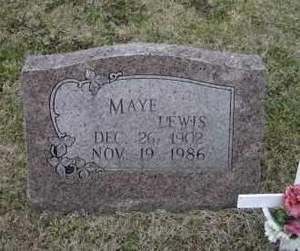 LEWIS, UNA MAYE - Lawrence County, Arkansas | UNA MAYE LEWIS - Arkansas Gravestone Photos
