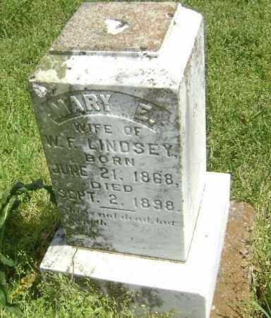 LINDSEY, MARY E. - Lawrence County, Arkansas | MARY E. LINDSEY - Arkansas Gravestone Photos