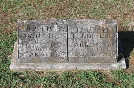 """LINGO, TENNESSEE BELLE """"TENNIE"""" - Lawrence County, Arkansas 