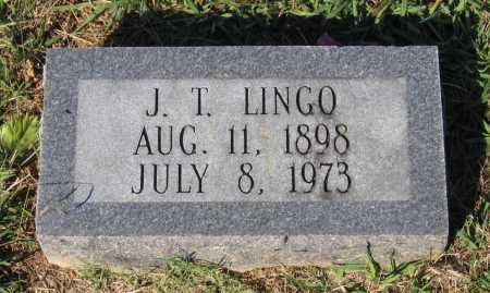 "LINGO, JAMES TAYLOR ""J. T."" - Lawrence County, Arkansas 