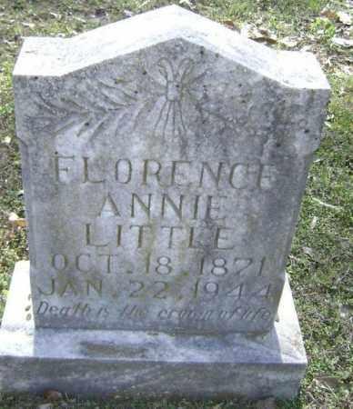 "LITTLE, FLORENCE FRANCES ANNA ""FLORENCE ANNIE"" - Lawrence County, Arkansas | FLORENCE FRANCES ANNA ""FLORENCE ANNIE"" LITTLE - Arkansas Gravestone Photos"