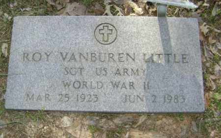 LITTLE, JR. (VETERAN WWII), ROY VANBUREN - Lawrence County, Arkansas | ROY VANBUREN LITTLE, JR. (VETERAN WWII) - Arkansas Gravestone Photos