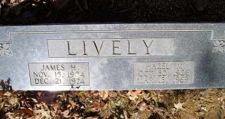 LIVELY, JAMES HOYLE - Lawrence County, Arkansas | JAMES HOYLE LIVELY - Arkansas Gravestone Photos