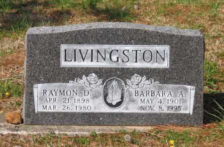 LIVINGSTON, BARBARA A. - Lawrence County, Arkansas | BARBARA A. LIVINGSTON - Arkansas Gravestone Photos