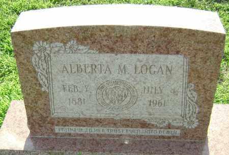 "LOGAN, ALBERTA ""BIRDIE"" MABEL  - Lawrence County, Arkansas   ALBERTA ""BIRDIE"" MABEL  LOGAN - Arkansas Gravestone Photos"