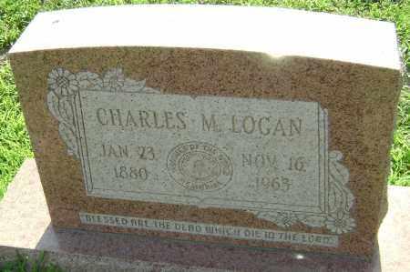 LOGAN, CHARLES MARTIN - Lawrence County, Arkansas | CHARLES MARTIN LOGAN - Arkansas Gravestone Photos
