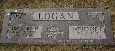 LOGAN, CHARLES H. - Lawrence County, Arkansas | CHARLES H. LOGAN - Arkansas Gravestone Photos