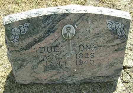 LONG, DUEY - Lawrence County, Arkansas | DUEY LONG - Arkansas Gravestone Photos
