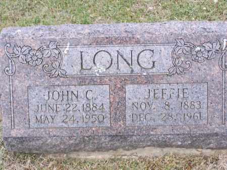 LONG, JEFFIE - Lawrence County, Arkansas | JEFFIE LONG - Arkansas Gravestone Photos