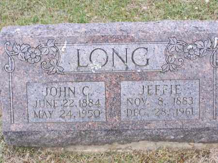 ALEXANDER LONG, JEFFIE - Lawrence County, Arkansas | JEFFIE ALEXANDER LONG - Arkansas Gravestone Photos