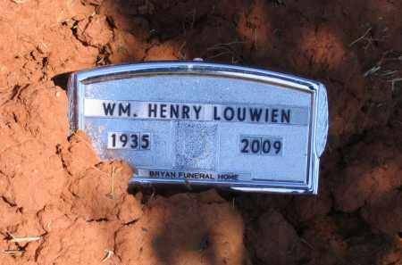 LOUWIEN, JR. (VETERAN), WILLIAM HENRY - Lawrence County, Arkansas | WILLIAM HENRY LOUWIEN, JR. (VETERAN) - Arkansas Gravestone Photos