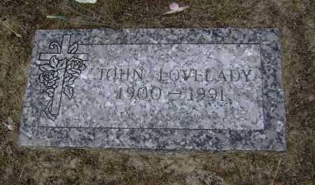 LOVELADY, JOHN L. - Lawrence County, Arkansas | JOHN L. LOVELADY - Arkansas Gravestone Photos