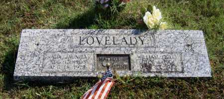 LOVELADY, ADA JUANITA - Lawrence County, Arkansas | ADA JUANITA LOVELADY - Arkansas Gravestone Photos