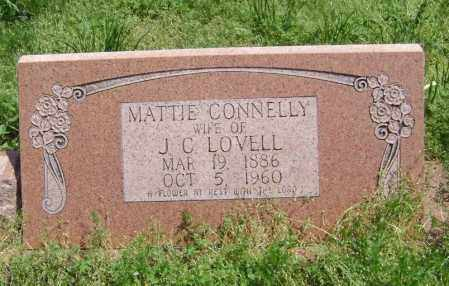 CONNELLY LOVELL, MATTIE - Lawrence County, Arkansas | MATTIE CONNELLY LOVELL - Arkansas Gravestone Photos