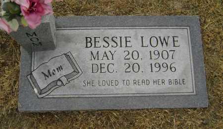 LOWE, BESSIE - Lawrence County, Arkansas | BESSIE LOWE - Arkansas Gravestone Photos
