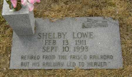 LOWE, SHELBY - Lawrence County, Arkansas   SHELBY LOWE - Arkansas Gravestone Photos