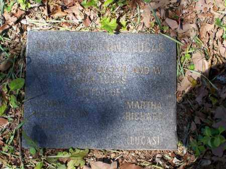LUCAS, MARY CATHERINE - Lawrence County, Arkansas | MARY CATHERINE LUCAS - Arkansas Gravestone Photos