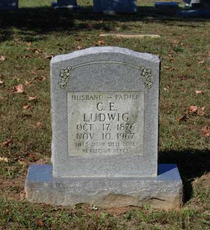 "LUDWIG, CHARLES E.  ""C. E."" - Lawrence County, Arkansas   CHARLES E.  ""C. E."" LUDWIG - Arkansas Gravestone Photos"