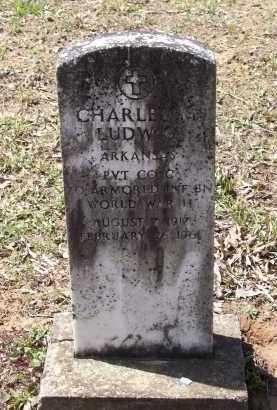 LUDWIG (VETERAN WWII), CHARLES MARK PHILLIPS - Lawrence County, Arkansas | CHARLES MARK PHILLIPS LUDWIG (VETERAN WWII) - Arkansas Gravestone Photos