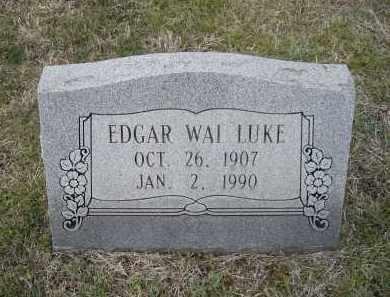 LUKE, EDGAR WAI - Lawrence County, Arkansas   EDGAR WAI LUKE - Arkansas Gravestone Photos