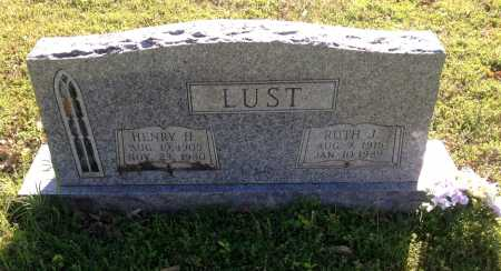 LUST, HENRY H. - Lawrence County, Arkansas | HENRY H. LUST - Arkansas Gravestone Photos