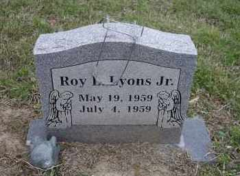 LYONS, JR., ROY LEON - Lawrence County, Arkansas   ROY LEON LYONS, JR. - Arkansas Gravestone Photos