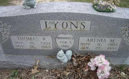 LYONS, ARENIA M. - Lawrence County, Arkansas | ARENIA M. LYONS - Arkansas Gravestone Photos