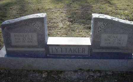 LYTTAKER, PHINEAS EVOID - Lawrence County, Arkansas | PHINEAS EVOID LYTTAKER - Arkansas Gravestone Photos