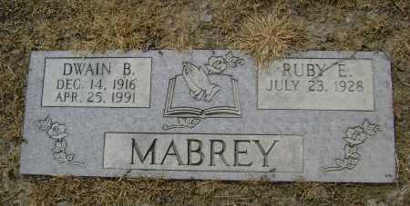 MABREY, DWAIN B. - Lawrence County, Arkansas   DWAIN B. MABREY - Arkansas Gravestone Photos