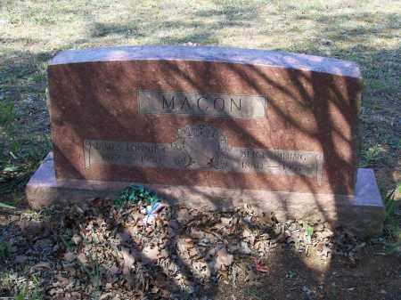 VINING MACON, ELIZABETH ALICE - Lawrence County, Arkansas   ELIZABETH ALICE VINING MACON - Arkansas Gravestone Photos