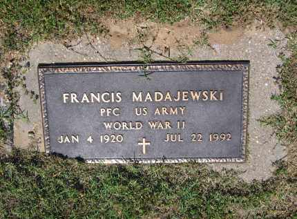 MADAJEWSKI (VETERAN WWII), FRANCIS - Lawrence County, Arkansas | FRANCIS MADAJEWSKI (VETERAN WWII) - Arkansas Gravestone Photos
