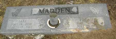 MADDEN, JAKE - Lawrence County, Arkansas | JAKE MADDEN - Arkansas Gravestone Photos
