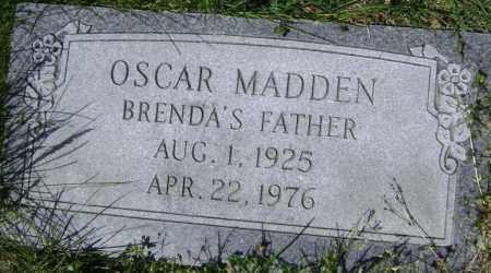 MADDEN, OSCAR - Lawrence County, Arkansas | OSCAR MADDEN - Arkansas Gravestone Photos