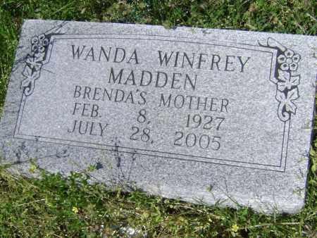 WINFREY MADDEN, WANDA - Lawrence County, Arkansas | WANDA WINFREY MADDEN - Arkansas Gravestone Photos