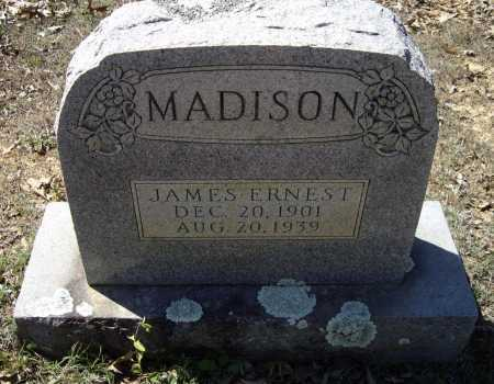 MADISON, JAMES ERNEST - Lawrence County, Arkansas   JAMES ERNEST MADISON - Arkansas Gravestone Photos