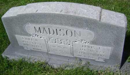 MADISON, ETHEL B. - Lawrence County, Arkansas   ETHEL B. MADISON - Arkansas Gravestone Photos