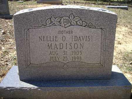 DAVIS MADISON, NELLIE O. - Lawrence County, Arkansas | NELLIE O. DAVIS MADISON - Arkansas Gravestone Photos