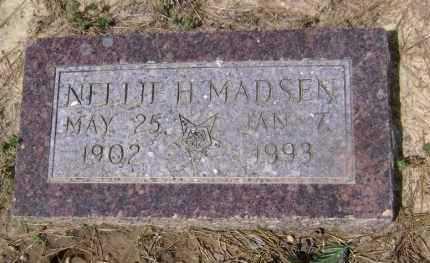 MADSEN, NELLIE H. - Lawrence County, Arkansas | NELLIE H. MADSEN - Arkansas Gravestone Photos