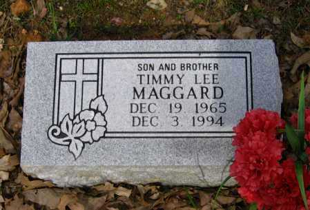 MAGGARD, TIMMY LEE - Lawrence County, Arkansas | TIMMY LEE MAGGARD - Arkansas Gravestone Photos