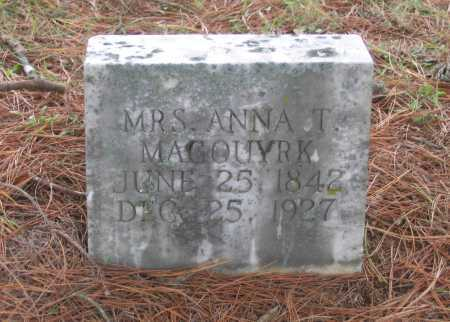 HERRON MAGOUYRK, ANNA THERESA - Lawrence County, Arkansas | ANNA THERESA HERRON MAGOUYRK - Arkansas Gravestone Photos
